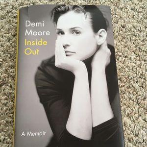 Demi Moore Memoir Inside Out Hardcover Book